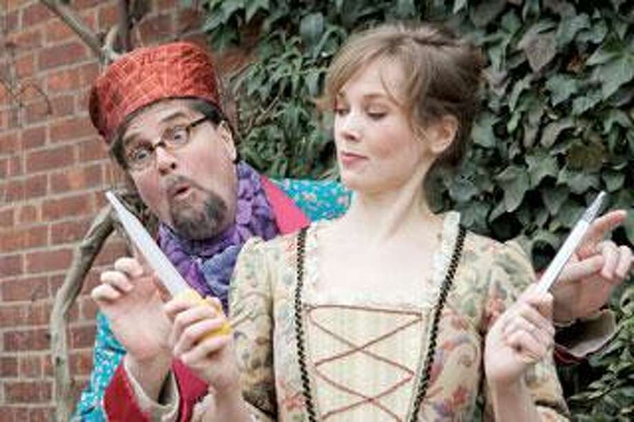 """The Elm Shakespeare Company Artistic Director James Andreassi and Tamara Hickey will be part of """"The Imaginary Invalid"""" cast in August. (Judy Sirota Rosenthal)"""