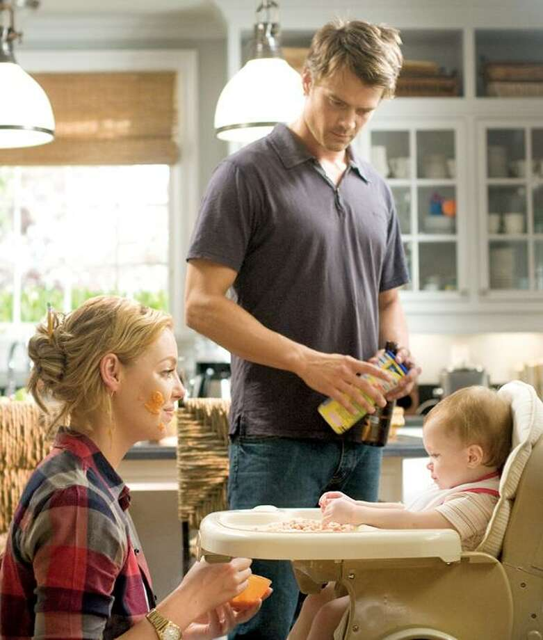 "Peter Iovino/ Warner Bros. Pictures Katherine Heigl and Josh Duhamel try their hand at the Hepburn and Tracy thing in ""Life as We Know It."""