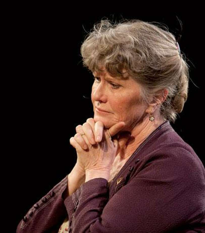 "Judith Ivey, as she appeared in the role of Amanda Wingfield in her last appearance at Long Wharf in ""The Glass Menagerie."" (T. Charles Erickson)"