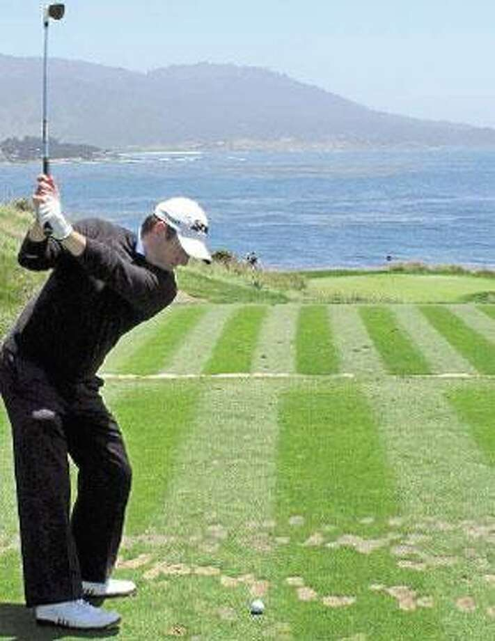 Golfers playing in the U.S. Open this week will see plenty of ocean views at Pebble Beach. (Associated Press)