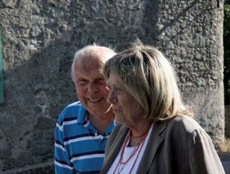 Borish Bolash reunites with Ailene in France, 64 years after they first met. (Contributed photo)