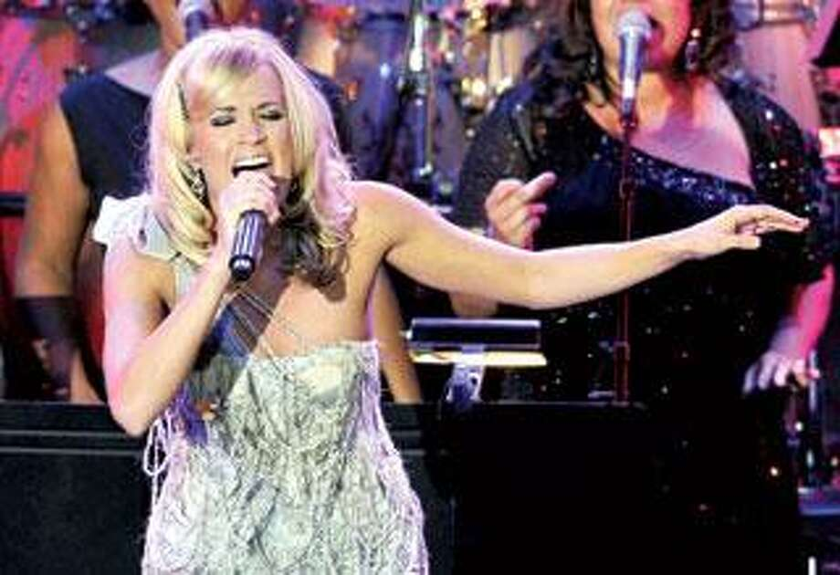 Carrie Underwood. (Associated Press)