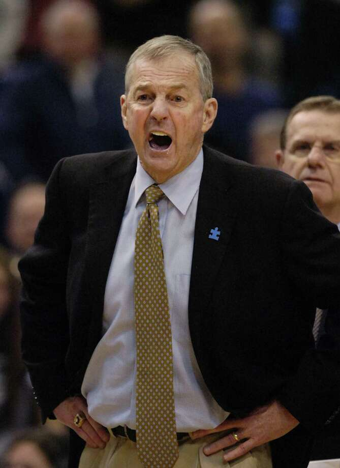 Jim Calhoun is staying at Connecticut and is close to signing a four-year deal with the Huskies. Photo: ASSOCIATED PRESS / AP2010