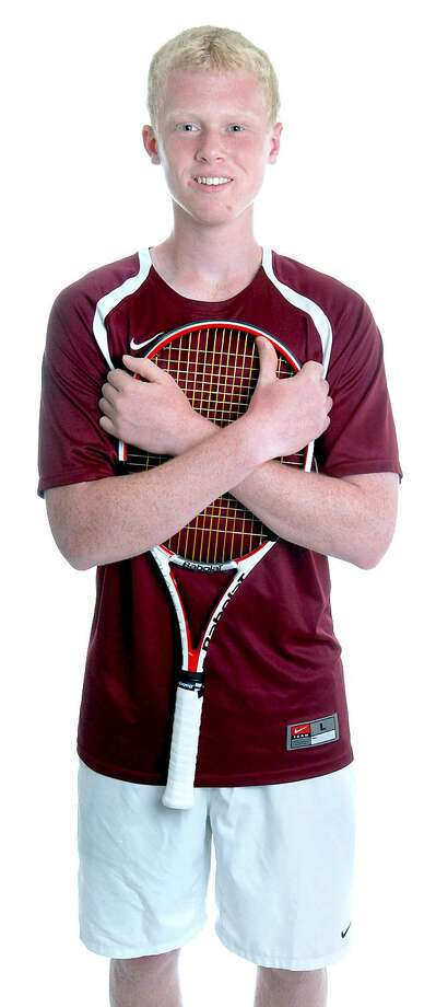 All-Area Boys' Tennis MVP Nolan Paige of Hopkins. (Arnold Gold/Register)