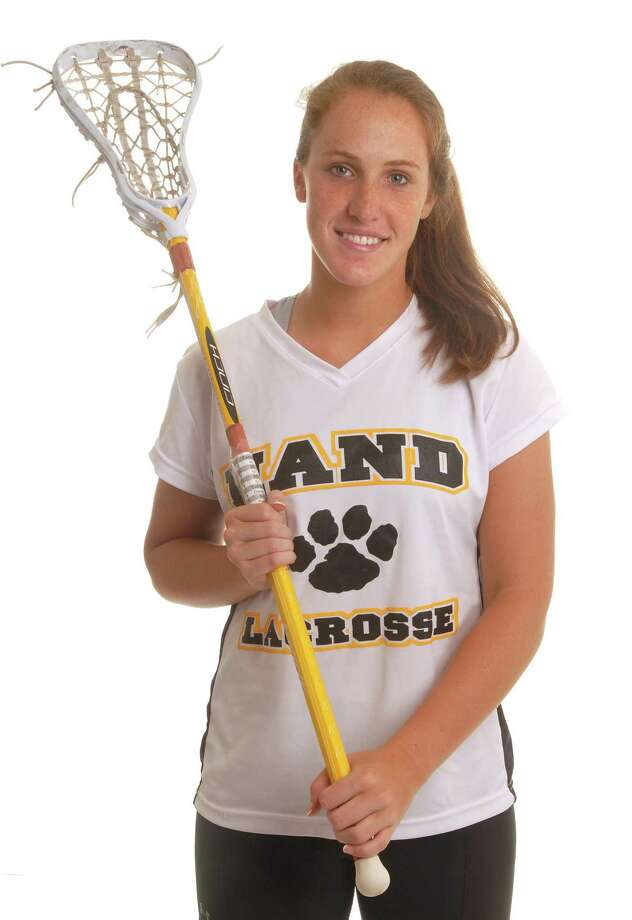 All-Area Girls' Lacrosse MVP Emily Jablonski of Hand. (Brad Horrigan/Register)