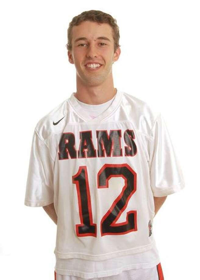 Cheshire's Todd Heritage is the 2010 All-Area boys' lacrosse MVP. (Brad Horrigan/Register)