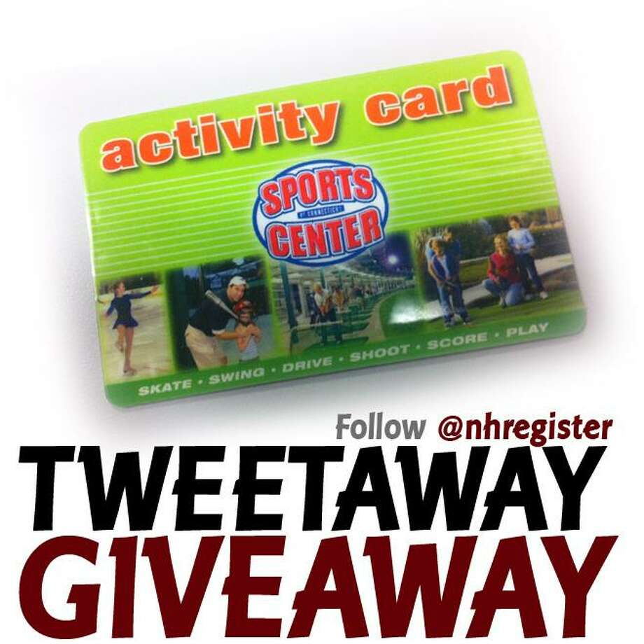 Tweet a link to this page to win this $25 gift card to Sports Center CT.