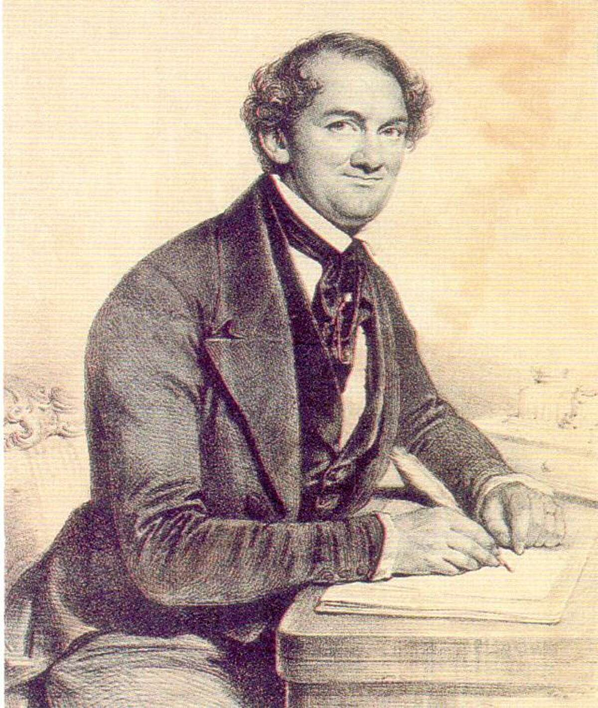 P.T. Barnum in his days as a foreign correspondent