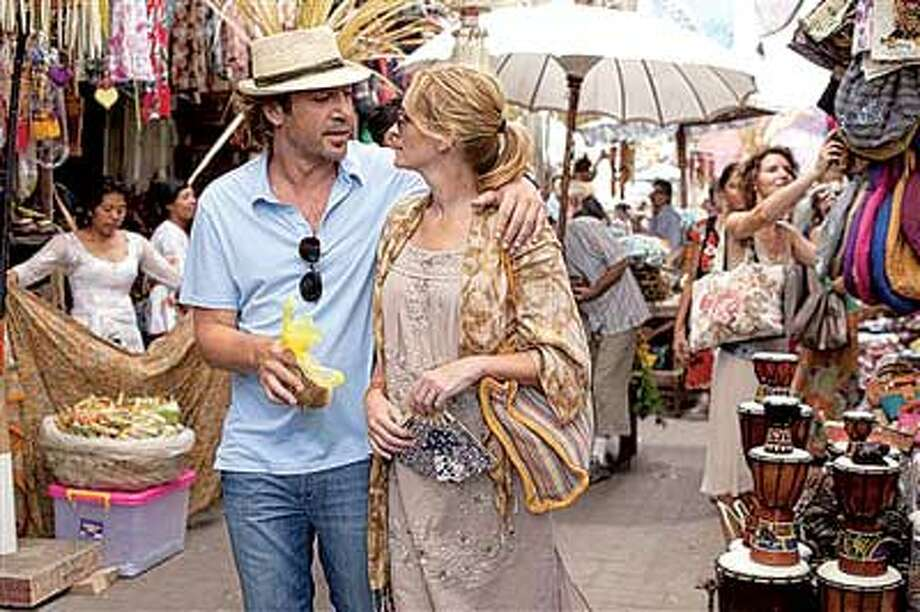 "Javier Bardem is obviously the ""love"" part of the movie's title. (AP Photo)"