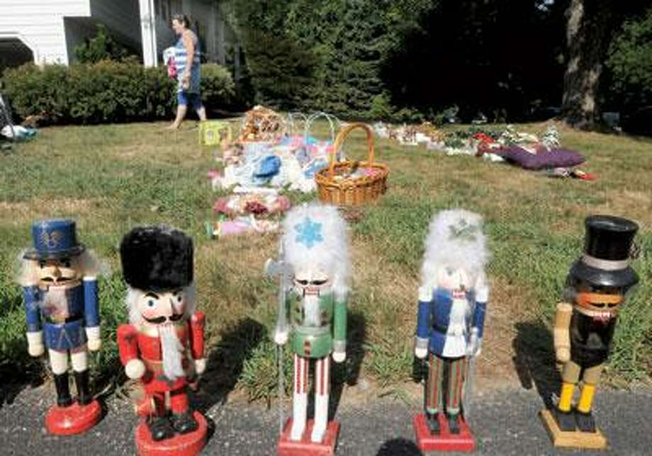 Good signage attracts more customers, and, while many holiday knickknacks go unsold, nutcrackers seem to have a market. (Mara Lavitt/Register)