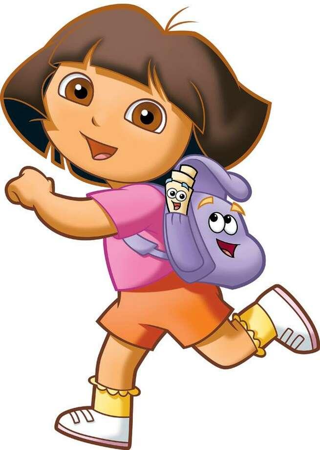 "Dora and Backpack in ""Dora's Big Birthday Adventure."""