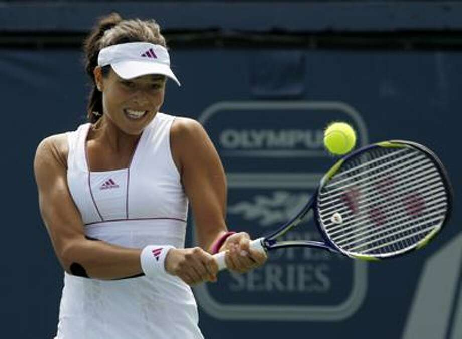 Ana Ivanovic has committed to play in this year's Pilot Pen Tennis tournament, which takes place Aug. 20-28 at the Connecticut Tennis Center at Yale. (Associated Press/Chris Carlson) Photo: AP / AP