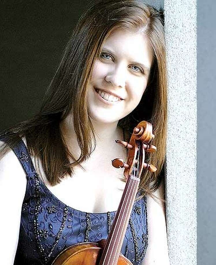 Erin Keefe, violinist, performs Aug. 20.