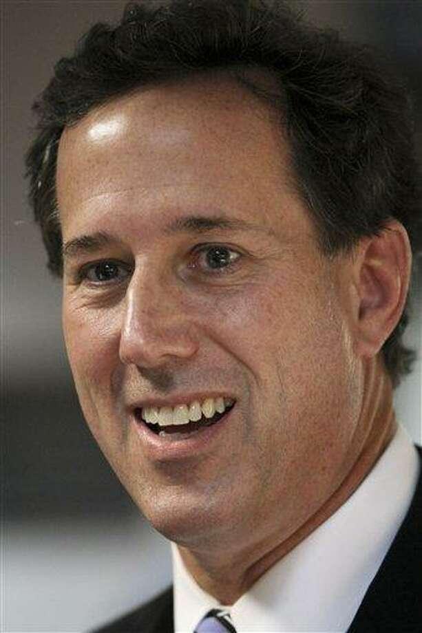 Republican presidential candidate, former Pennsylvania Sen. Rick Santorum. Associated Press Photo: AP / FR109827 AP