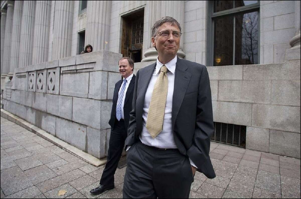 Microsoft co-founder and Chairman Bill Gates.