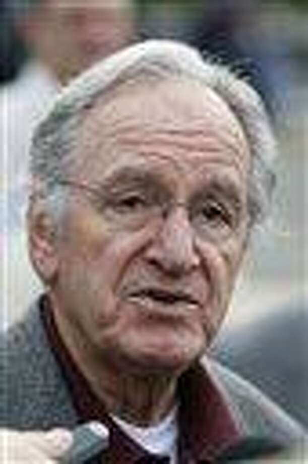 In this Monday, Oct. 25, 2010 photo, U.S. Sen. Tom Harkin, D-Iowa, speaks to reporters following a rally in support of three Iowa Supreme Court justices who are up for retention votes in the November election, in Des Moines, Iowa. Harkin says he will not seek re-election in 2014, The Associated Press reports Saturday, Jan. 26, 2013. (AP Photo/Charlie Neibergall) Photo: AP / AP