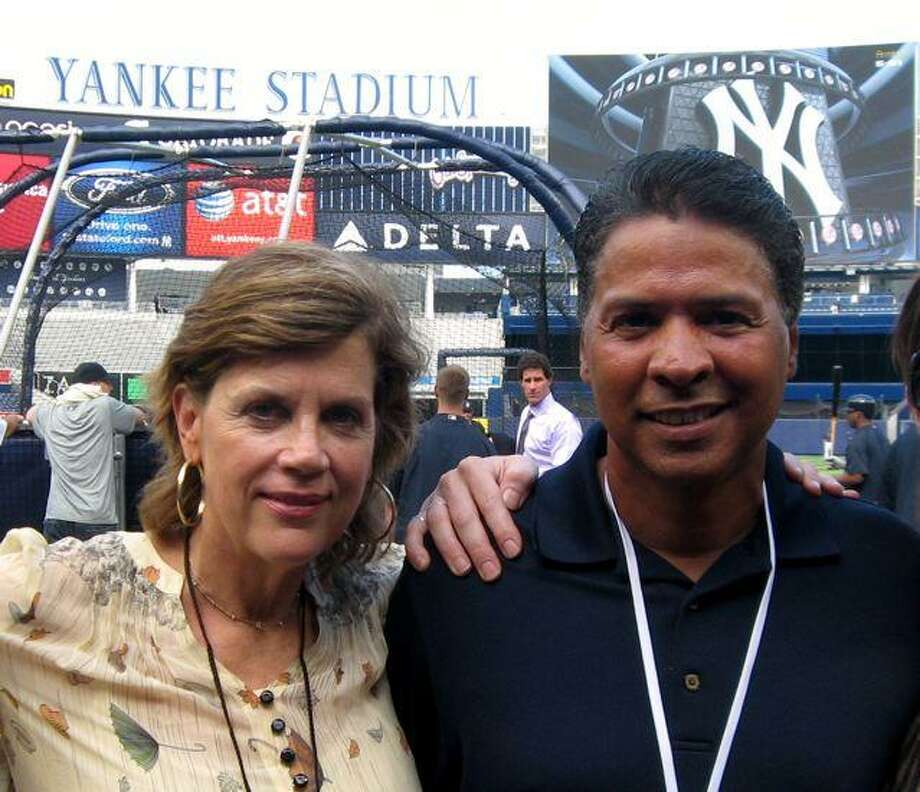 Co-authors Sally Cook, who has a home in Cornwall, Conn., and Ray Negron.
