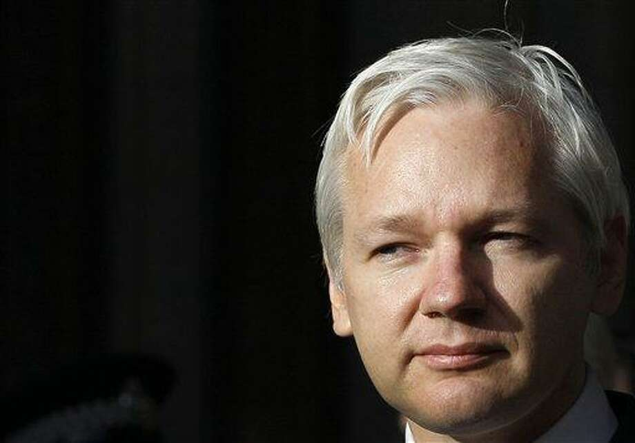 WikiLeaks founder Julian Assange says he is launching his very own television series. Associated Press file photo Photo: AP / AP