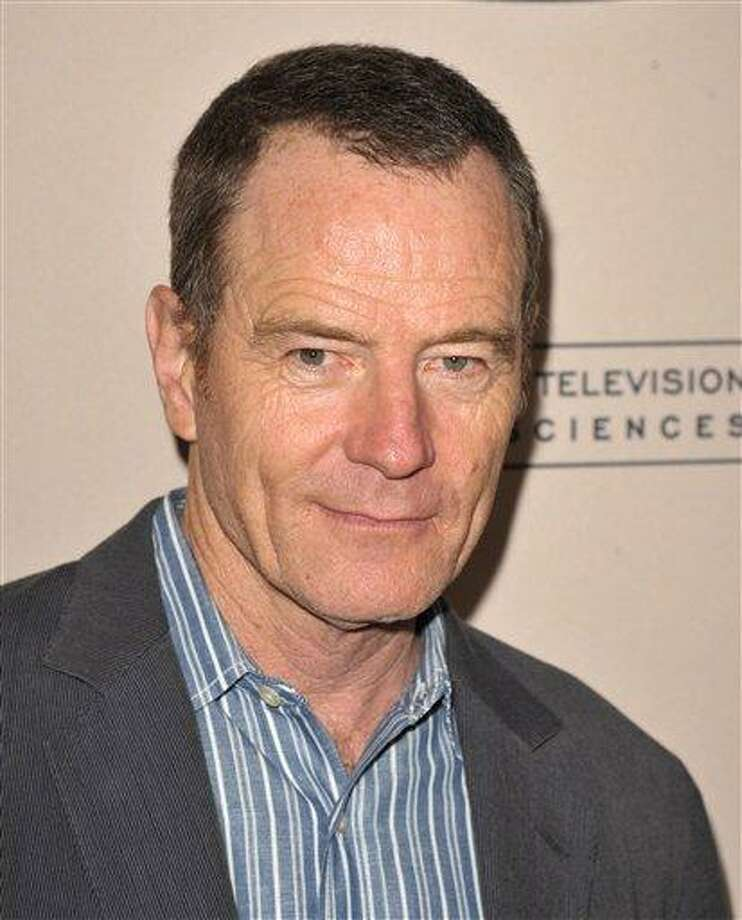 Bryan Cranston attends the Academy of Television Arts and Sciences' Performers Peer Group Reception Aug. 20 at the Sheraton Universal Hotel in Los Angeles. Associated Press Photo: JOHN SHEARER/INVISION/AP / Invision
