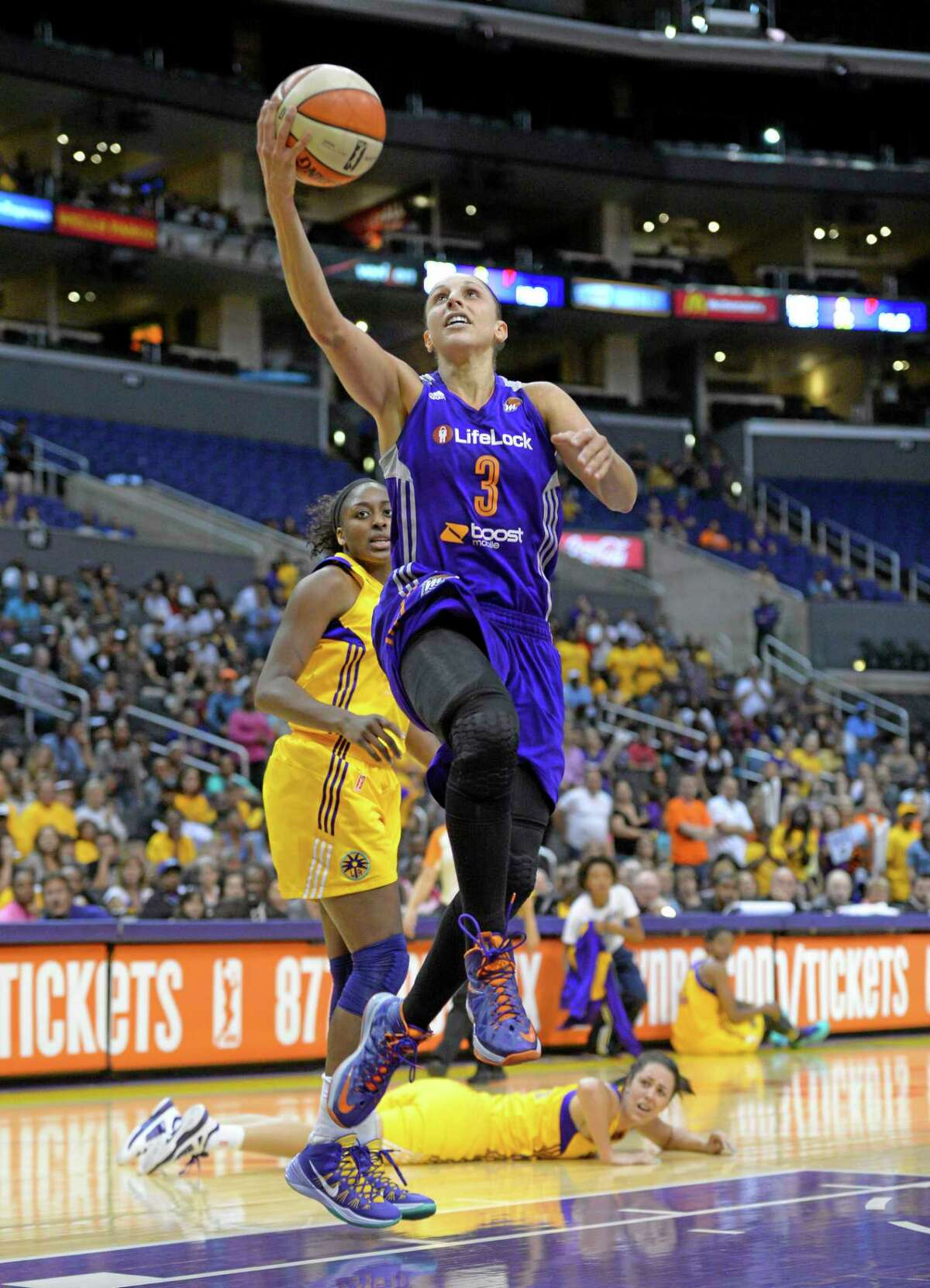 Phoenix Mercury guard and UConn legend Diana Taurasi highlights the list of 33 players invited to the U.S. women's basketball national team traning camp in October in Las Vegas. The team will be led by UConn coach Geno Auriemma.