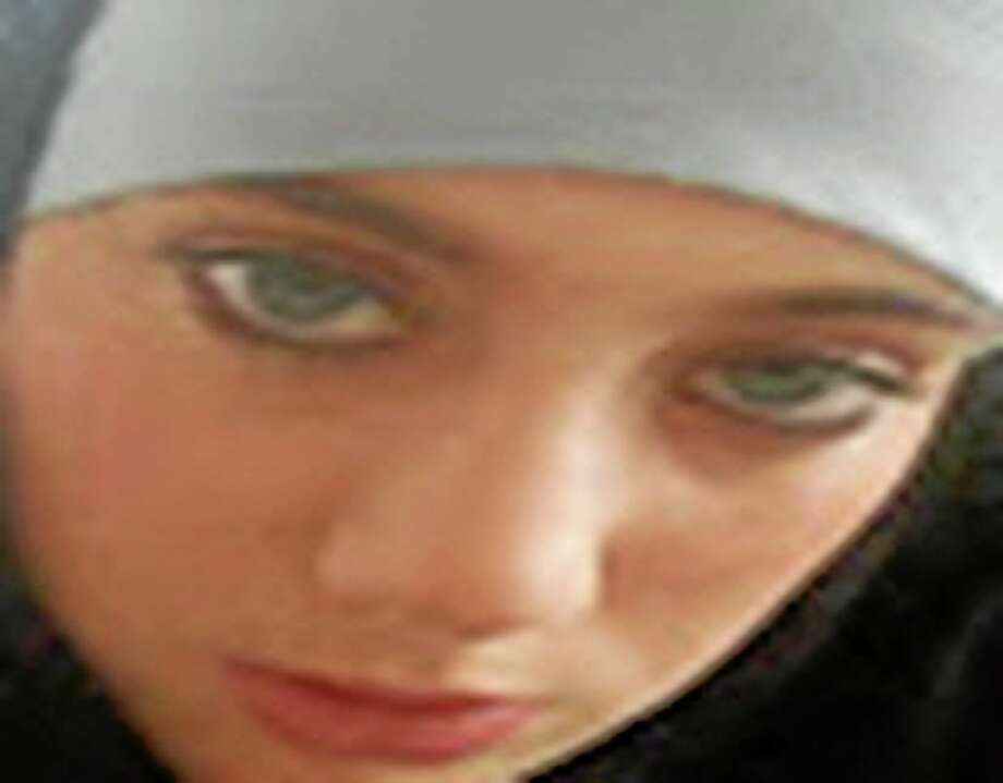 """Undated image provided by Interpol shows Samantha Lewthwaite. Interpol has issued an arrest notice for Samantha Lewthwaite, the fugitive Briton whom news media have dubbed the """"white widow."""" The international police agency says the notice was issued at the request of Kenya, where she is wanted on charges of possessing explosives and conspiracy to commit a felony in December 2011. (AP Photo/Interpol, File) Photo: AP / Interpol"""