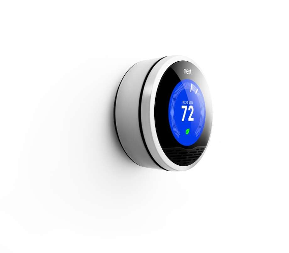 Learning Thermostat by Nest Labs. The Nest smart learning thermostat adopts to its user's lifestyle as well as weather conditions. Will the company's next product be a smoke detector? / x-default