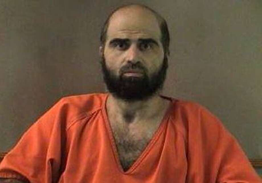 This undated file photo provided by the Bell County Sheriff's Department shows Nidal Hasan the Army psychiatrist charged in the deadly 2009 Fort Hood shooting rampage that left 13 dead. Photo: AP / Bell County Sheriff's Department