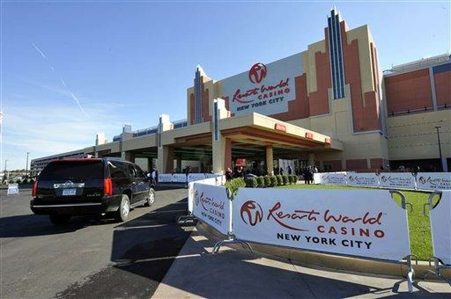 Casinos like this Resorts World Casino, pictured on the day of its official opening as New York City's first casino at the Aqueduct Racetrack in Queens, are offering competition to Connecticut's Indian-run casinos as a growing number of Eastern states embrace gambling as a way to lure visitors and drum up revenue. Associated Press Photo: AP / AP2011