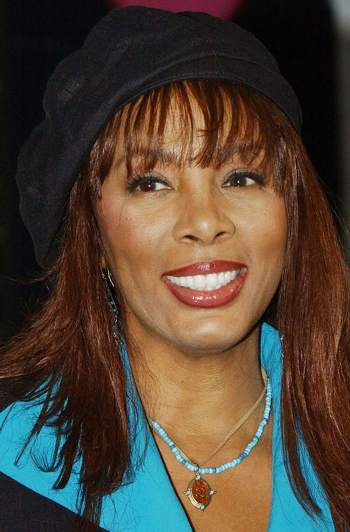 In this June 2004 file photo, Donna Summer is shown at an appearance in London. Associated Press