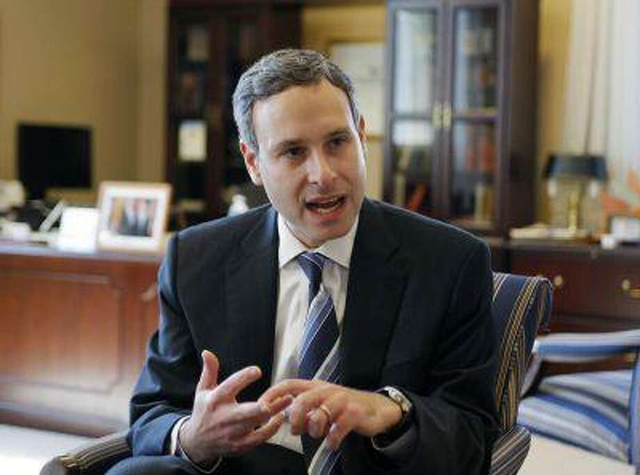 Former Internal Revenue Service (IRS) Commissioner Douglas Shulman speaks during an interview with Reuters in Washington October 8, 2009. REUTERS/Hyungwon Kang / X01186