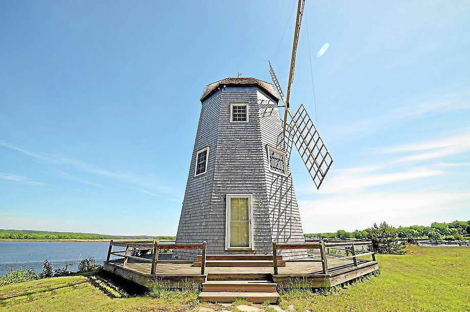 Submitted photoThe landmark windmill is now a home. Photo: Journal Register Co.
