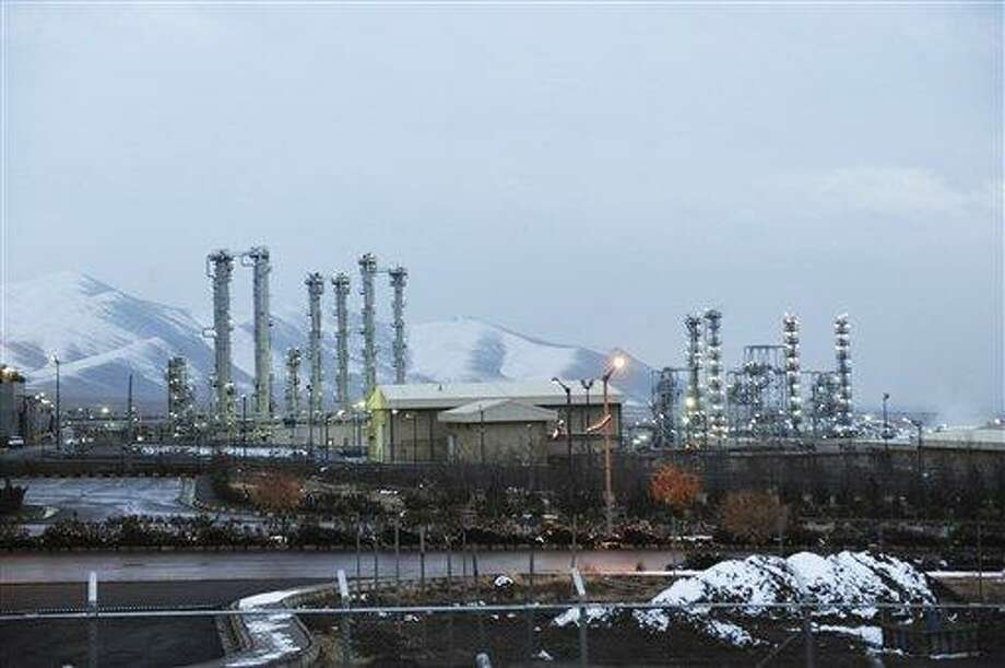 FILE - A Saturday, Jan. 15, 2011 file photo, shows Iran's heavy water nuclear facilities near the central city of Arak 150 miles (250 kilometers) southwest of Tehran. Iran has floated specific dates for reopening talks with the U.S. and other world powers about its nuclear program. At the same time, Tehran has left U.N. nuclear inspectors empty-handed when it comes to addressing Western suspicions that it's conducting tests related to nuclear weapons. (AP Photo/ISNA,Hamid Foroutan, File) Photo: AP / Iranian Students News Agency,ISNA