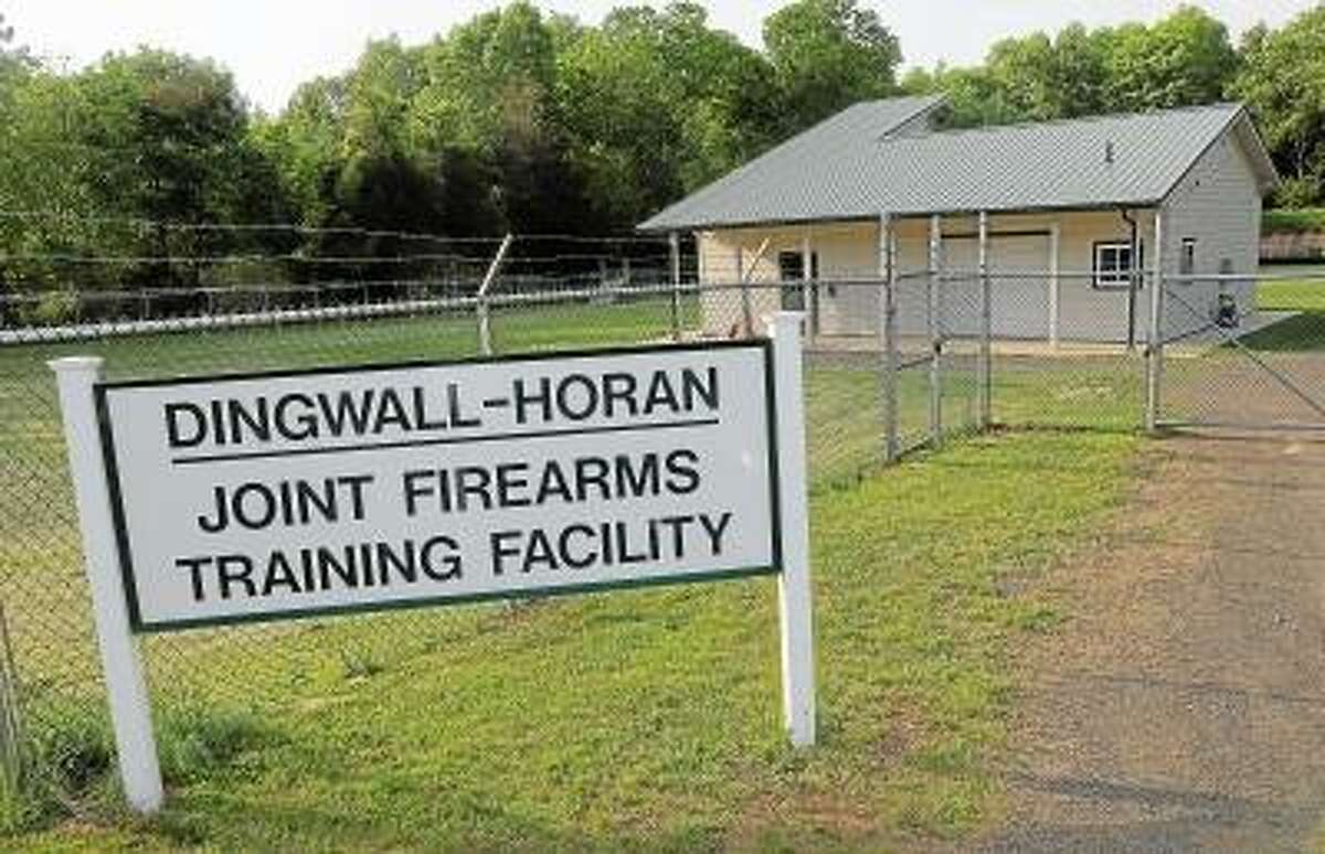 Catherine Avalone/The Middletown Press The Dingwall-Horan Joint Firearms Training Facility at 260 Meriden Road in Middlefield.