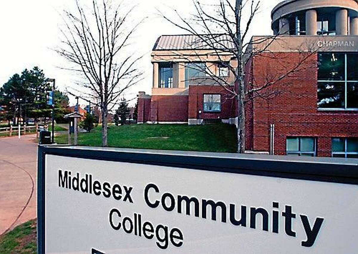 Middlesex Community College in Middletown. (Middletown Press file photo)