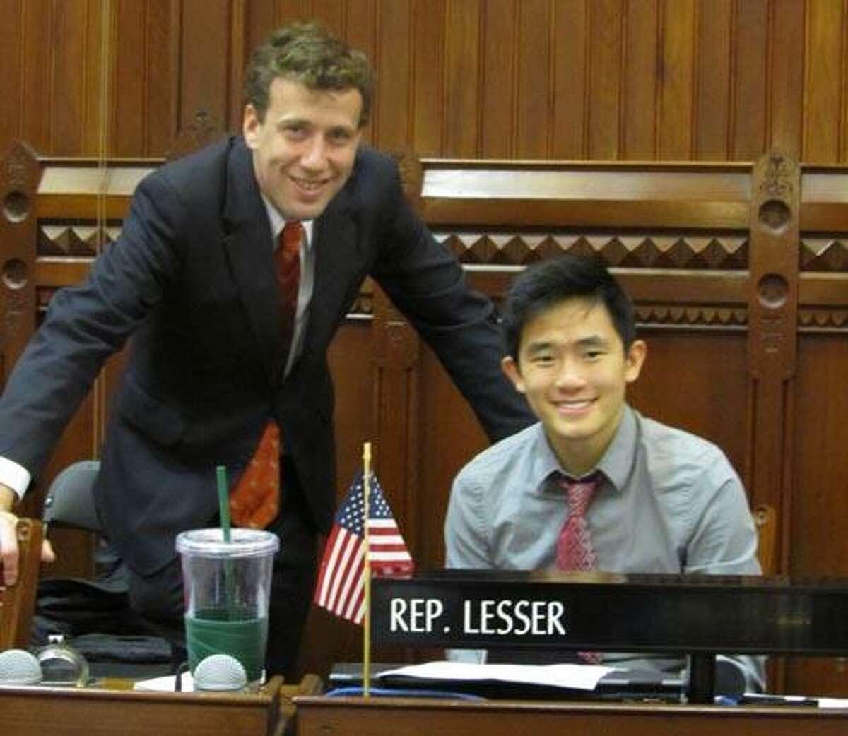 Matt Lesser and Victor Wu, of Durham