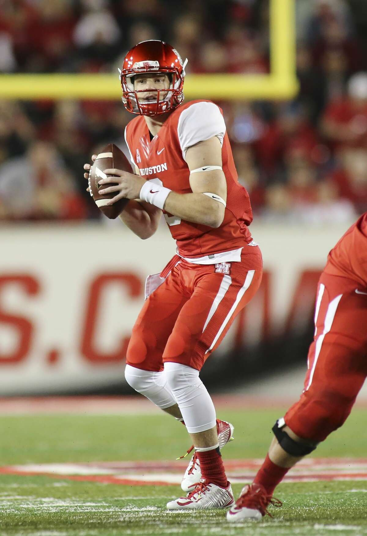 Either Kyle Postma (pictured) or Kyle Allen on Friday will be named starting quarterback for the University of Houston's season opener Saturday.