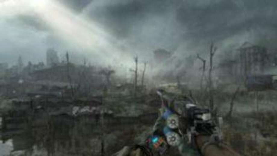 """In """"Metro Last Light,"""" players once again take on the role of Artyon who once again has to explore the ruins of a Moscow ravaged by nuclear war. Photo: Courtesy Of Deep Silver / Courtesy of Deep Silver"""