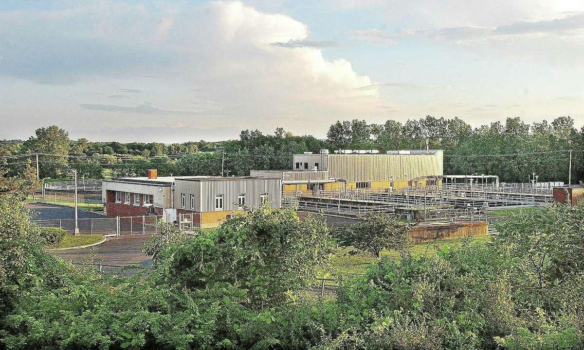 The Mattabassett District Sewage Treatment Plant in Cromwell.