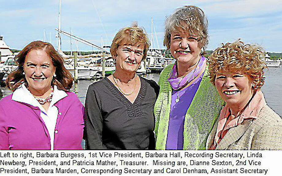 Submitted photoThe Essex Garden Club has announce its new officers. From left, Barbara Burgess, Barbara Hall, Linda Newberg and Patricia Mather. Missing from the photo are Dianne Sexton, Barbara Marden and Carol Denham. Photo: Journal Register Co.