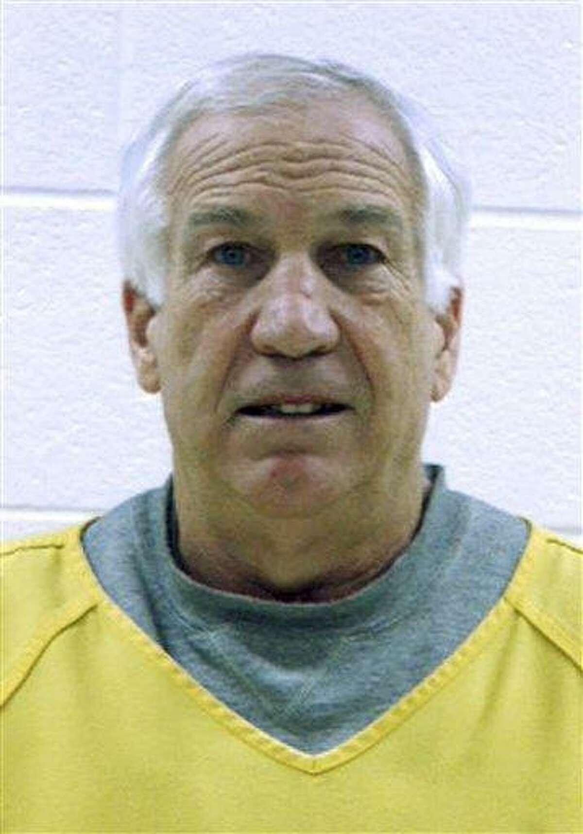 Sandusky at his arraignment in 2011 Associated Press