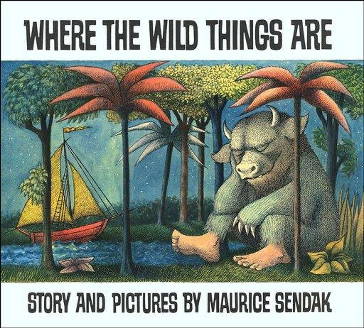 In this book cover image released by HarperCollins, Sendak's