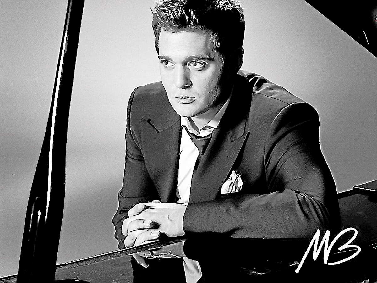 """Photo courtesy of Michael BubleMichael Bublé will perform """"live"""" in concert at the XL Center in Hartford on Wednesday Sept. 25."""