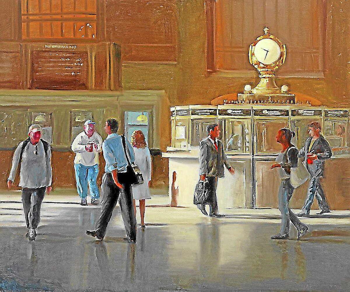 """Off Peak, Grand Central"" by Patt Baldino."