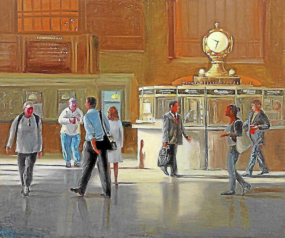 """Off Peak, Grand Central"" by Patt Baldino. Photo: Journal Register Co."