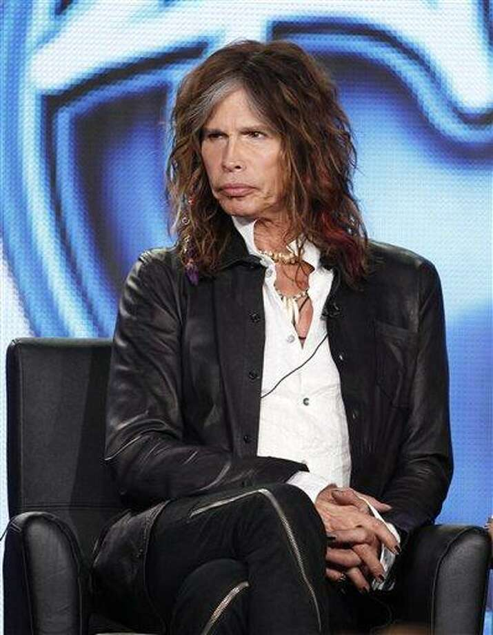 American Idol judge Steven Tyler of Aerosmith participates in the American Idol panel at the Fox Broadcasting Company Television Critics Association Winter Press Tour in Pasadena , Calif., earlier this week. Associated Press Photo: AP / R-MOLOSHOK