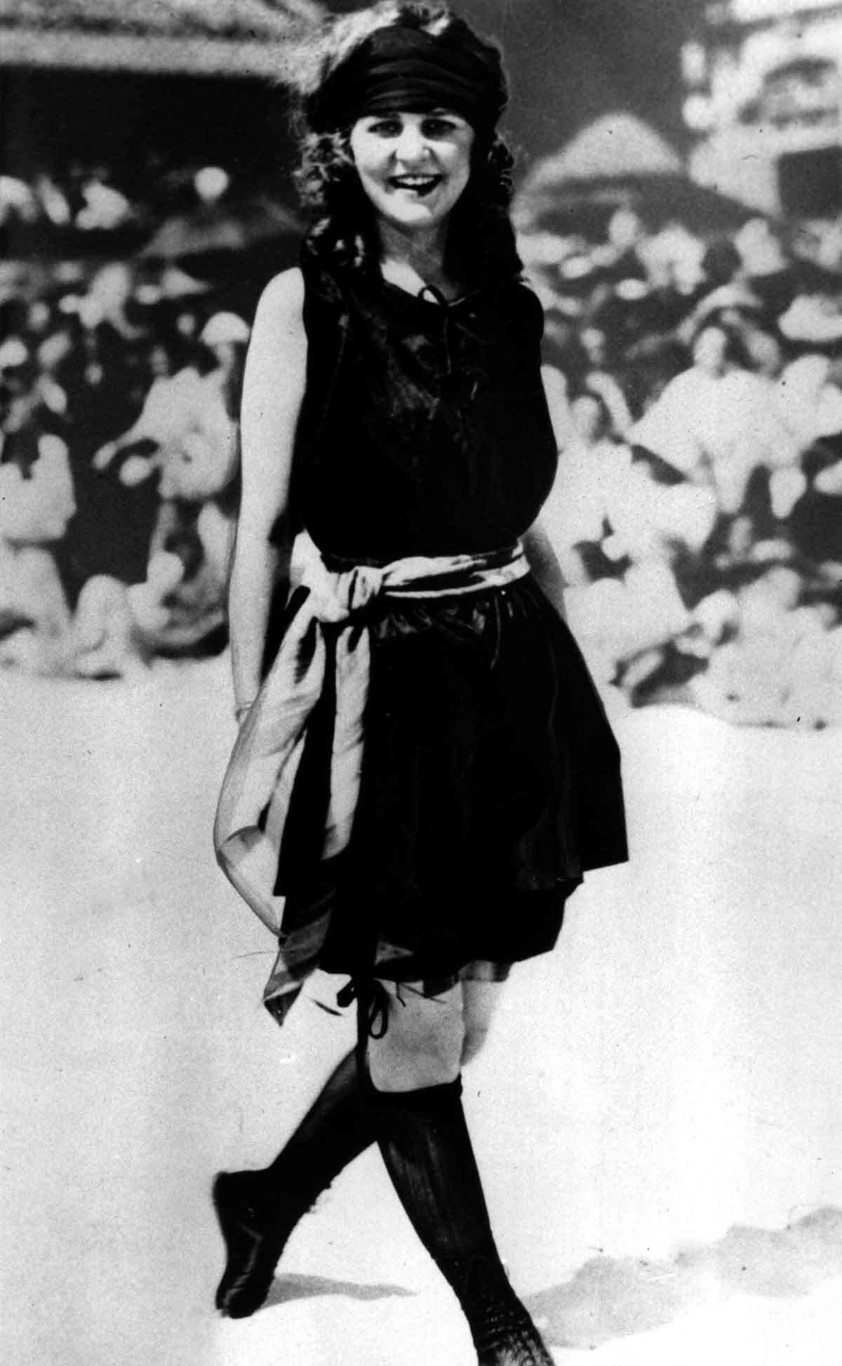 Margaret Gorman, of Washington, D.C., poses after winning the first Miss America pageant in Atlantic City, N.J., in Sept. 1921. (AP Photo)