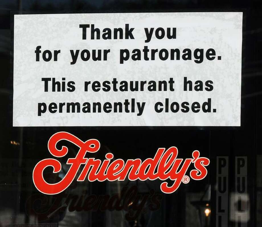 The Middletown Press 1.9.12   The Friendly's Restaurant on Route 66-Washington Street in Middletown closed today. / TheMiddletownPress