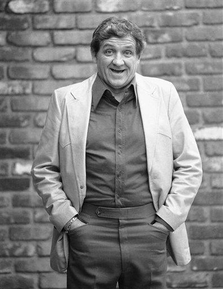"""This Dec. 28, 1984 file photo shows actor George Lindsey posing for a photo outside of a Los Angeles restaurant. Lindsey, who portrayed Goober in the television series """"The Andy Griffith Show,"""" died Sunday. He was 83. Photo: AP / AP1984"""