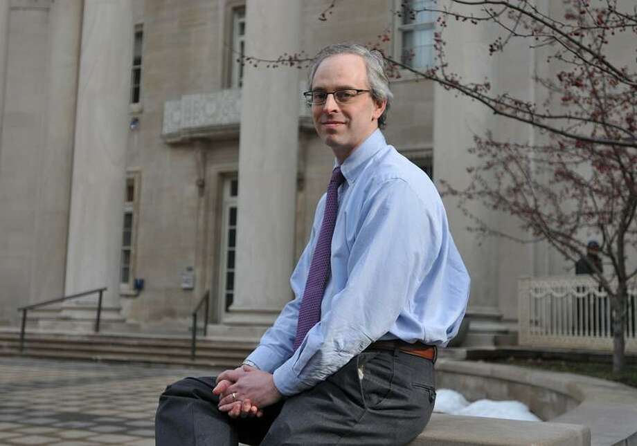 New Haven--Dr. Cary Gross, associate professor of medicine, has completed a breast cancer study at Yale. Photo-Peter Casolino 1/9/13