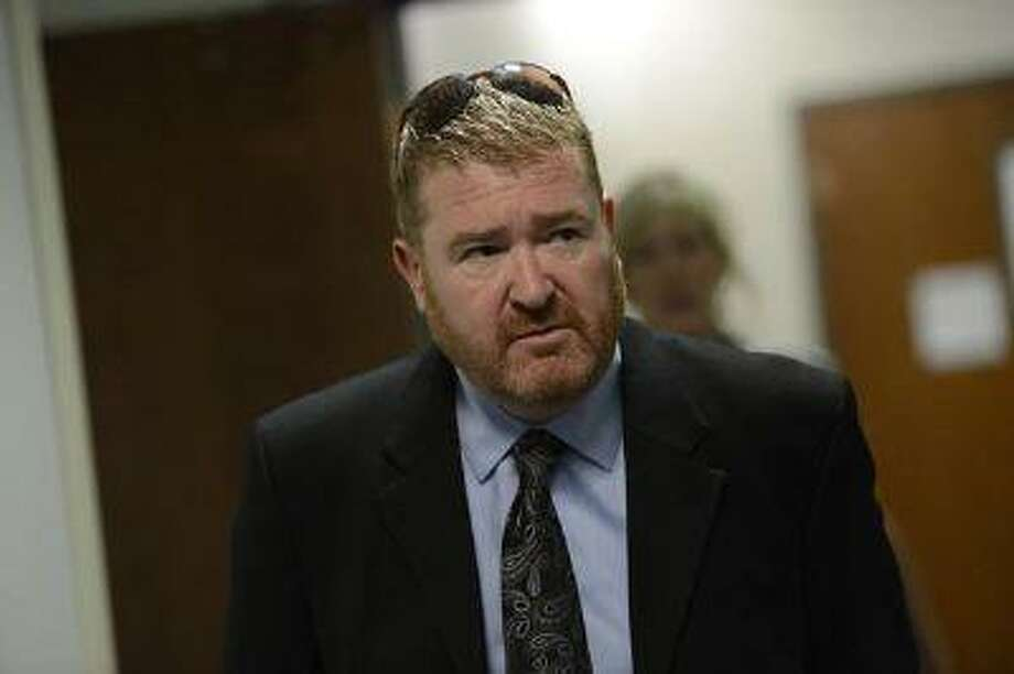 Defense attorney Daniel King arrives at the Arapahoe County courthouse May 13, 2013, for a hearing for Aurora theater shooting suspect James Holmes. (RJ Sangosti/The Denver Post) Photo: DP / Copyright - 2013 The Denver Post, MediaNews Group.